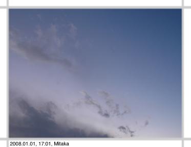 2008.01.01, 17:01, Mitaka